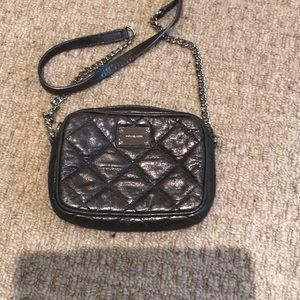 Michael Kors Gray Shimmer Crossbody bag